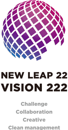 NEW LEAP 22 VISION 222 Challenge collaboration Creative Clean management
